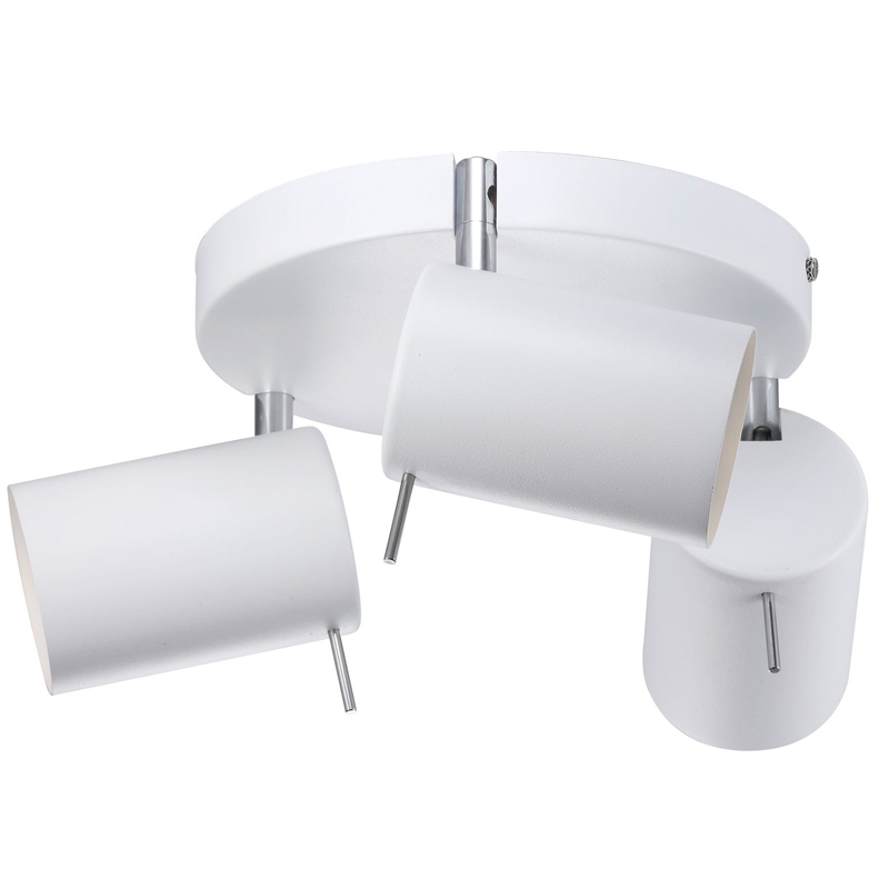 Prime 3 Round Plate Wall / Ceiling Light